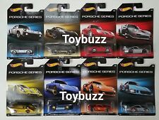 HOT WHEELS 1:64 WAL-MART EXCLUSIVE PORSCHE SERIES SET OF 8 GT2 917K 911 918 935