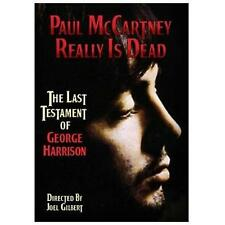 Paul McCartney Really Is Dead: The Last Testament of George Harrison, New DVD, P