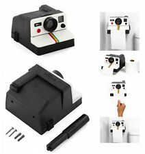 IT  Retro Camera Polaroll Toilet Paper Holders Home Toilet Deco Tissue Box Gift