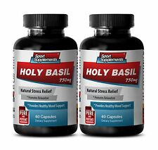 Supports Healthy Liver - Holy Basil Extract 745mg - Magnesium Capsules 2B