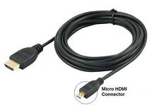"1,8 m Micro Hdmi A Hdmi Cable Para Lenovo Yoga 2 11,6 ""Laptop Tablet A Tv"