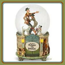 Disney Store Musical Light-Up Snowglobe 101 Dalmatians Pongo Perdita Dalmations