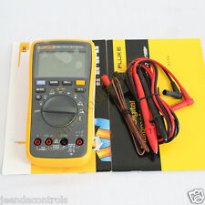 FLUKE 17B Digital Multimeter W Temperature Frequency 12 Months Warranty