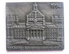 BERLIN / REICHTAGSGEBÄUDE / 1994  Jahresedition ..Buderus Gusseisen Schild ()