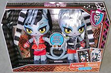 Monster High WERECAT SISTER TWINS Plush 2 PK Set EXCLUSIVE Purrsephone Meowlody
