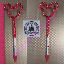 New Authentic Original Disney Red Minnie Mouse Outline Stick Pen -  Gift