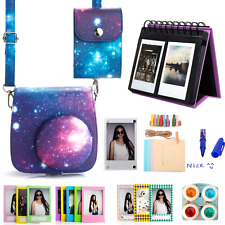 Woodmin Galaxy 10-in-1 Fujifilm Instax Mini 8 Accessories Bundle for Fuji Instan