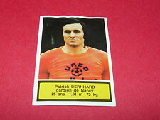 145 BERNHARD AS NANCY LORRAINE ASNL AGEDUCATIFS FOOTBALL 1975-76 PANINI 75-1976