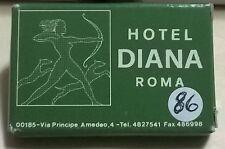 SAPONETTA HOTEL DIANA - ROMA - RETTANGOLARE - CONFEZIONATA IN SCATOLA - N. 86