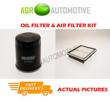 PETROL SERVICE KIT OIL AIR FILTER FOR SUBARU OUTBACK 2.5 165 HP 2003-09