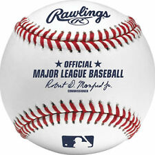 (1) ~ Rawlings Official Major League Baseball Game Ball ~ Robert Manfred New!