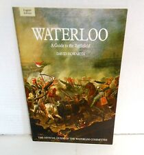BOOK, Battle Field Guide Waterloo 1997 Edition Pitkin excerpts from Howarth
