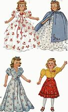 Vintage Doll Clothes PATTERN 918 for 22 in F & B Little Lady doll by Effanbee