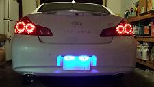 BLUE LED License Plate Lights Mitsubishi Eclipse 1995-2013 2010 2011 2012 2013