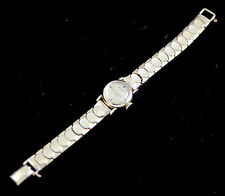 VINTAGE LECOULTRE LADIES MANUAL WIND WRIST WATCH - FANCY CASE LUGS & BRACELET