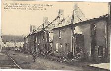 51 - cpa - 1914-1915 - PORT A BINSON bombardé