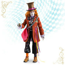 """Disney Store MAD HATTER 13 1/2"""" Doll ALICE THROUGH THE LOOKING GLASS Film NIB"""