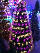 XMAS TREE-FIBRE OPTIC TREE 1.8 METRES - SELLING SUPER FAST - TWO LEFT IN STOCK!