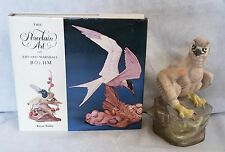 Boehm FIGURINES BIRDS Young American Bald Eagle 61588 + Signed Hard Cover Book