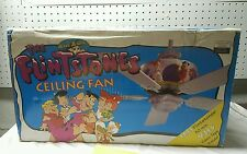 Vintage 90s Flintstones Ceiling Fan by Madison Avenue New in Box Hard to Find