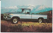 """1980 Ford Ranger F150 Pickup Truck""  Auto Advertising Postcard  *FREE US SHIP"