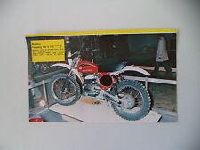 - RITAGLIO DI GIORNALE ANNO 1975 - MOTO BULTACO PURSANG MK9 MK 9 125