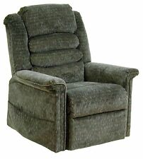 Catnapper Soother 4825 Power Recliner Lift Chair + Heat Massage Woodland Fabric