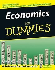 Economics for Dummies by Sean Flynn (2005 Paperback) - Obama & Hillary vs. Trump