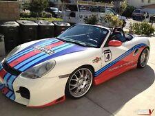 Porsche Boxster Martini-coche de Rally gráficos / Calcomanías