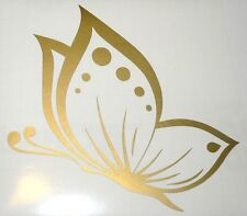 adesivo ritagliato FARFALLA Fiat 500 auto wall sticker decal BUTTERFLY big fly
