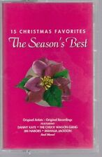 15 Christmas Favorites: The Season's Best by Various Artists 1999 Cassette VG