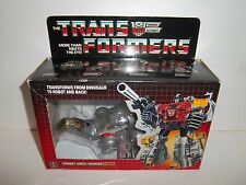 UNUSED 1985 G1 Transformers Dinobot **SLUDGE** Complete Box Sealed Weapons MINT!