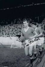 Signed Bill Foulkes Manchester United Autograph Photo + Proof