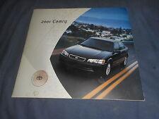 2001 All New Toyota Camary USA Market Color Brochure Catalog Prospekt