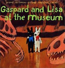 Gaspard and Lisa at the Museum by Anne Gutman c2001 VGC HC, We Combine Shipping