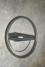 Green Steering Wheel/Pad/Horn Ring 69 Ford Mustang Fastback Coupe Convertible OE