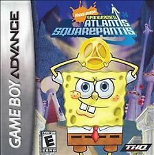 Spongebob Squarepants: Atlantis Squarepantis, New Game Boy Advance Video Games