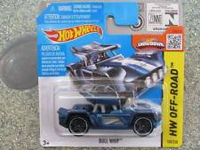 HOT WHEELS 2015 #100/250 Bull Whip BLU NUOVO Casting 2015 CASE E