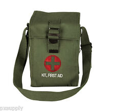 FIRST AID POUCH BAG MILITARY STYLE PLATOON LEADERS 1st AID KIT ROTHCO 8324