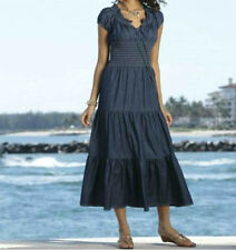 Monroe & Main Peasant Dreams Denim Dress size XLarge  new
