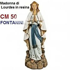 Statua religiosa FONTANINI madonna di lourdes cm 50 in resina arte sacra santi