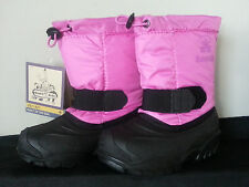 Kamik Tickle Toddler  Round Toe Pink Snow Boot US Size 10 New