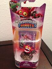 SKYLANDERS GIANTS PUNCH POP FIZZ RED RARE WITH BLISTER FOR COLLECTION TRAP TEAM