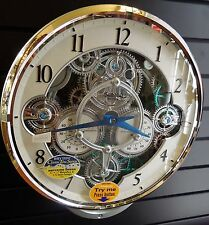 RHYTHM MUSICAL MAGIC MOTION WALL CLOCK -GIZMO30 MELODIES 4MH886WD05- MOV. GEARS