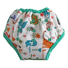 Potty Training Pants For Kids Reusable Washable Cloth paints with pocket animal