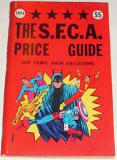 SFCA COMIC BOOK PRICE GUIDE~1974~RBCC~VINTAGE FANZINE~VERY FINE~GB LOVE