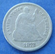USA - America : 1872 P Liberty Seated half dime, 5 cents..Silver. KM# 91.