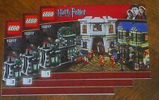 LEGO Bauanleitung Instruction Manual Harry Potter 10217 Diagon Alley