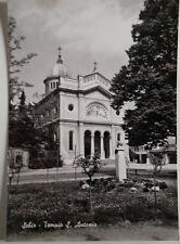 Cartolina Schio Tempio S. Antonio VIAGGIATA Postcard San