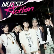 K-POP NU'EST 1st Mini Album [Action] CD + Booklet Sealed Music CD